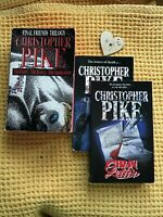 Christopher Pike Final Friends Trilogy First Edition And Chain Letter 1 & 2
