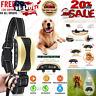 Anti Barking Collar Rechargeable Dog No Bark Waterproof Humane Training NO PAIN
