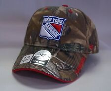New York Rangers 47 Brand Frost Hat Adjustable Cap Real Tree