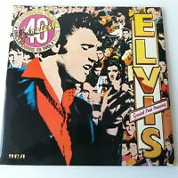 Elvis Presley - 40 Greatest Hits - Pink Coloured Vinyl LP  EX/EX+