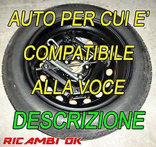 KIT Ruotino di scorta R15 Fiat 500L-Tipo-Opel Combo-Peugeot 807 2008 2014