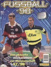 Panini Fußball 98 Bundesliga 1997/1998 - 10 Bilder auswählen - TOP-Auswahl RAR!