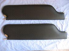 1969 camaro and firebird new sun visors black perforated