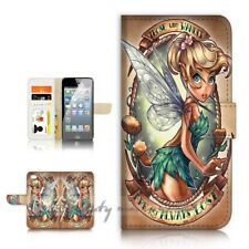 ( For iPhone 7 Plus ) Wallet Case Cover P21612 TinkerBell