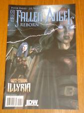 FALLEN ANGEL REBORN #2 RI COVER 2009 IDW J.K. WOODWARD ILLYRIA