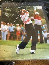 Fuzzy Zoeller Signed 8X10 PGA Golf