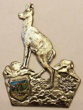 Hahnenkamm, AustriaWalking Stick Stocknagel, Hiking Medallion, Badge, NOSGP8-4