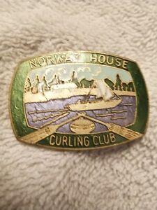 Broche Adaptée En Pin's Norway House Curling Club