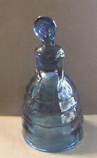 "VINTAGE ARTHUR LORCH IMPERIAL GLASS TEAL BLUE MELANIE DOLL 8"""