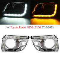 LED DRL Turning Light Daytime Running Lights for Toyota Land Cruiser Prado FJ150