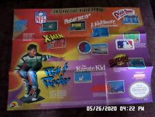 Nintendo NES (1988) Enteractive Promo Poster / Insert