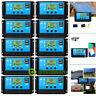Lot 60A 12V-24V MPPT Solar Panel Regulator Charge Controller Auto Focus Tracking