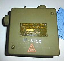 Control Box BC606-D Western Electric Signal-Corps US ARMY US NIB - RARE