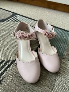 Girls Monsoon Roses Occasion / Party Shoes Heel Uk 2