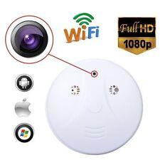 Wireless HD 1080P Spy Smoke Detector Hidden Camera Motion Detect DVR CameFH