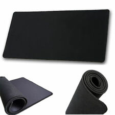800x400X3 mm Large Black Non-Slip Gaming Mouse Pad Mat Office Desk Mousepad UK