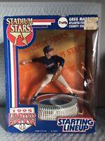 GREG MADDUX ATLANTA BRAVES 1995 STARTING LINEUP. LIMITED EDITION MLB BASEBALL
