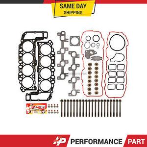 Head Gasket Bolts Set for 99-03 Dodge Dakora Durango RAM Jeep 4.7 SOHC VIN J, N