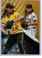 Chris Archer 2019 Topps Gold Label Class One 5x7 Gold #95 /10 Pirates