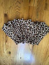 Lot Of 10 Fleece Headbands/Earwarmers Leopard Print New w/tags