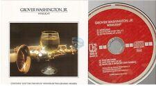 GROVER WASHINGTON Jr winelight CD ALBUM elektra TARGET CD west germany 64305-2