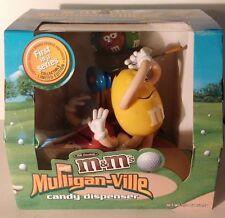New In Box~M&M's Mulligan-Ville HTF VARIANT Blue Golf Bag M&M Dispenser