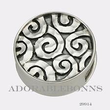 Authentic Lori Bonn Bonn Bons Silver Starry Night Slide Charm 29914