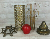 Falkenstein Lamp Parts Steampunk Brutalist Cage Canopy Charm Tree Ornate Base