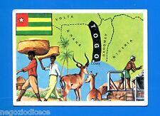 LA TERRA - Panini 1966 - Figurina-Sticker n. 305 - TOGO -New