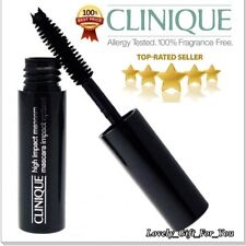 New Clinique High Impact Mascara 01 Black Travel Size Unboxed 3.5ml Fresh