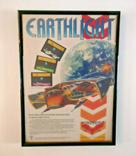 Retro gaming framed Advert Earthlight sinclair ZX spectrum Telecomsoft