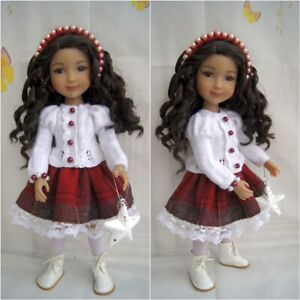 "14.5"" Ruby Red Fashion Friend OUTFIT for Winter Wear"
