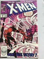 Uncanny X-Men 247 Chris Claremont Marc Silvestri Havok Psylocke Rogue Storm VFN