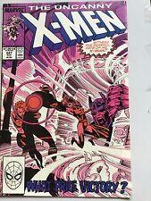 Uncanny X-Men 247 Chris Claremont Marc Silvestri Havok Psylocke Rogue Storm VFN