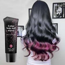 DIY Hair Color Cream Long Lasting Dye Wax Stylish Hair Mud Modeling Washable