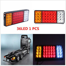 36 LED Tail Lights 12V Trailer Truck Ute Caravan Tail Lamps Brake For Chevy GMC