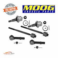Steering Tie Rod End Ball Join Set For Cadillac Escalade Chevy Tahoe  GMC Yukon