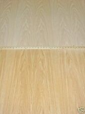 "Red Oak wood veneer 48"" x 96"" with peel and stick self adhesive backer (PSA)"