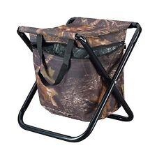 CARIBEE STOOL Portable + Cooler Drink Bag Seat Camping Picnic Beach Chair Camo