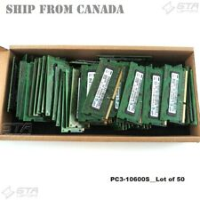 50GB (50X1GB) Samsung Laptop Memory Ram 1Rx8 PC3-10600S DDR3-1333 M471B2873FHS