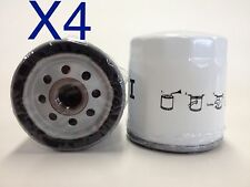 4X Oil Filter Suits Z154 DAEWOO Holden Commodore Nissan & Many More (TF154)