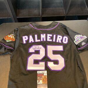Rafael Palmeiro Signed 1998 All Star Game Baltimore Orioles Jersey JSA COA