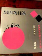 Au Pairs Sense & Sensuality UK vinyl LP album