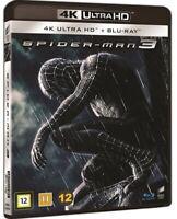 Spider Man 3 4K UHD + Blu Ray