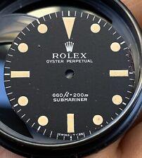 Quadrante Dial Rolex Submariner 5513 Swiss T 25 Patina Trizio