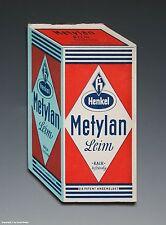 Kleiner Notizblock Henkel Metylan Leim + Kleister wohl um 1955