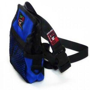 Black Dog Treat, Training & Walking Tote Bag with Belt