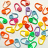Stitch holders markers plastic locking for crochet knitting 30 60 90