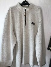 Weird Fish Mens Grey Jumper Pullover Size 5XL