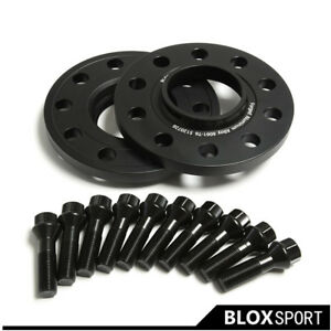 12mm (2) Wheel Spacers for BMW 328i 325i E46 2001+ | 5x120 CB72.56 M12x1.5 Bolts